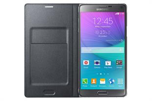 Samsung EF-NN910 Galaxy Note 4 Flip Wallet Cover ( LED )